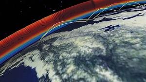 HF ionospheric skip propagation